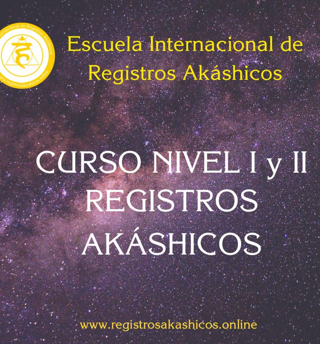 REGISTROS AKÁSHICOS NIVEL 1 Y 2